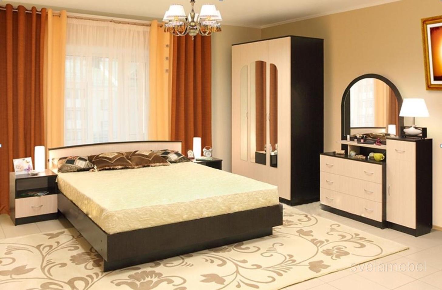 Спальни недорого фото