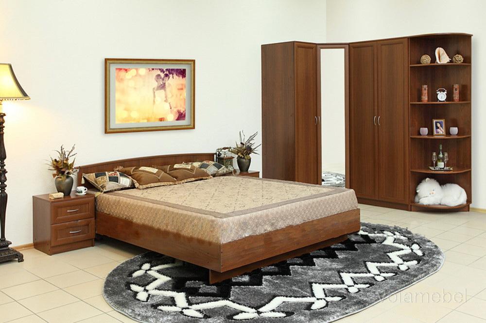 Угловая мебель для спальни фото